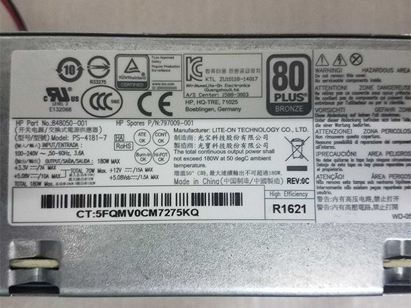 HP 848050-001 PCE019