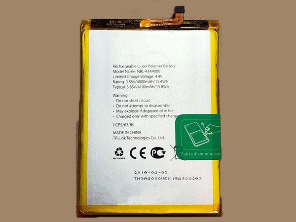 Handy Akku NBL-43A4000
