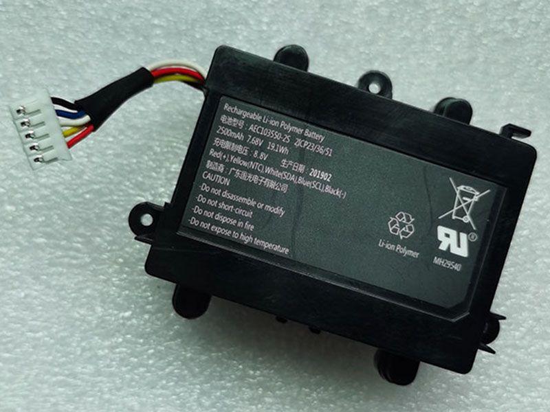 Akku AEC103550-2S