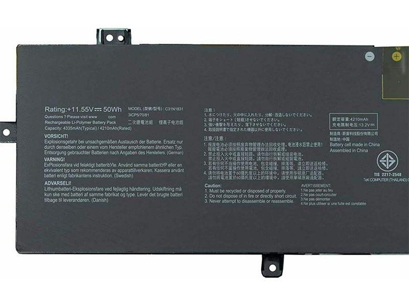 Notebook Akku C31N1831