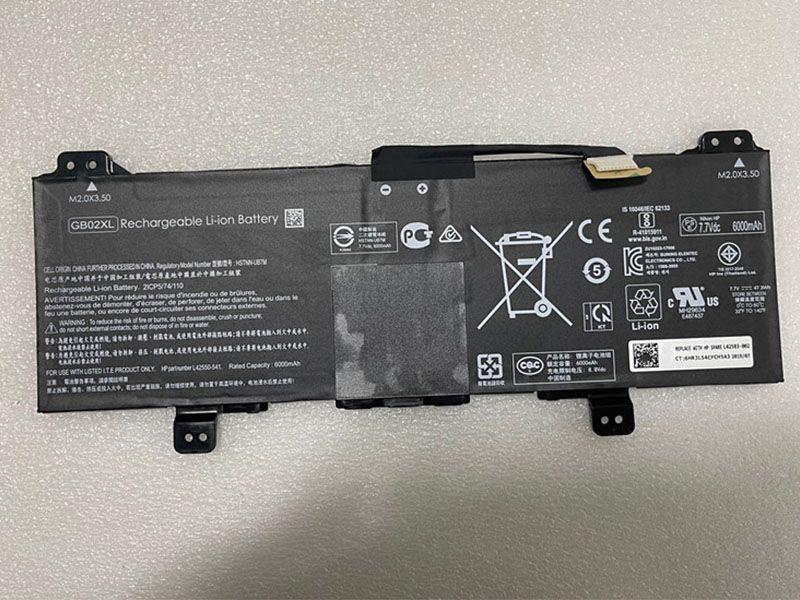 Notebook Akku GB02XL