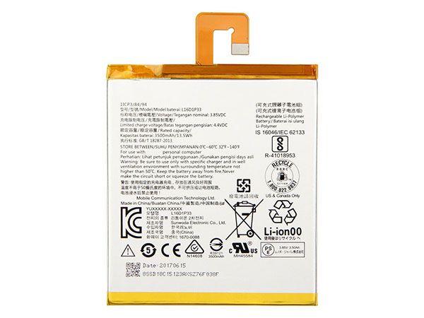 Tablet Akku L16D1P33