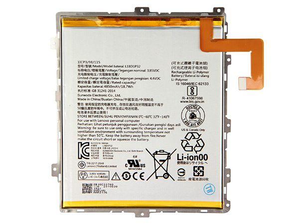 Tablet Akku L18D1P32