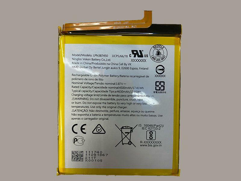 Handy Akku LPN387450