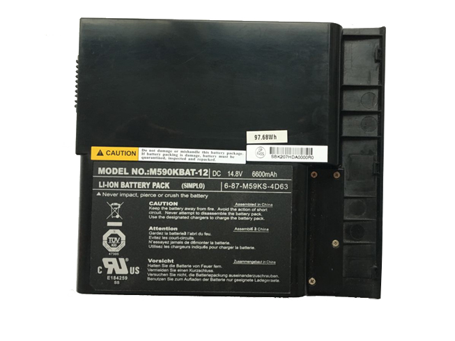 Notebook Akku M590KBAT-12