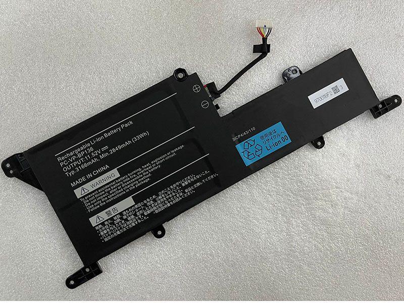 Notebook Akku PC-VP-BP136