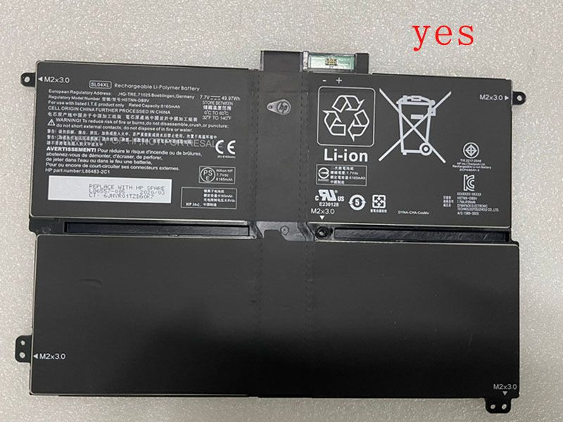 HP SL04XL HSTNN-D89V L86557-005 L86483-2C1