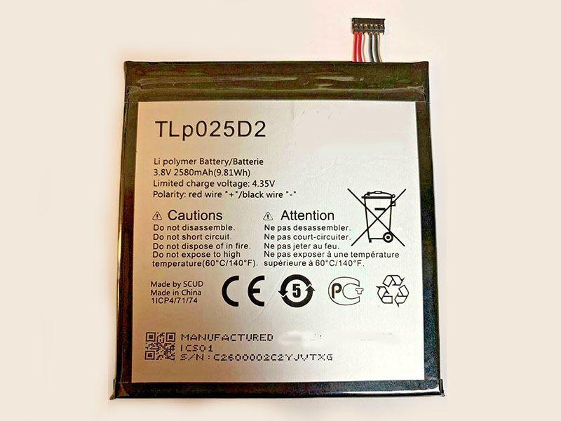Handy Akku TLp025D2