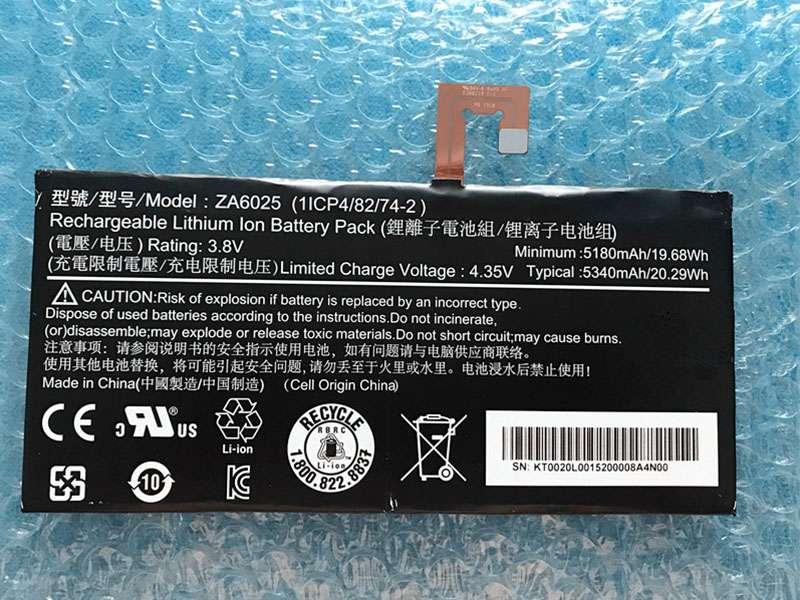 Tablet Akku ZA6025
