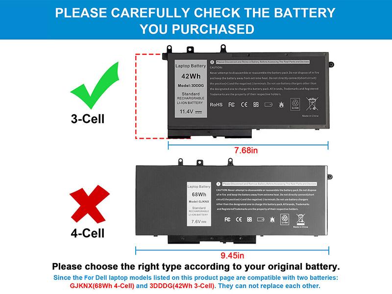 Notebook Akku 3DDDG