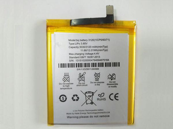 Handy Akku 3120(1ICP5/60/71)