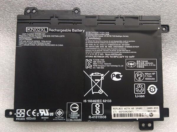Notebook Akku KN02XL