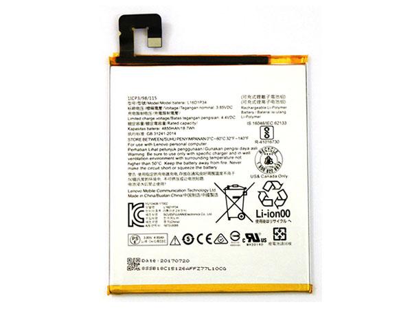 Tablet Akku L16D1P34