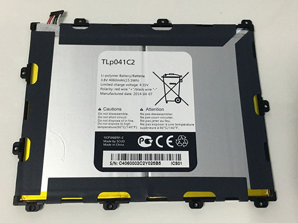 Tablet Akku TLp041C2