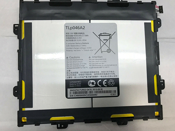 Tablet Akku TLp046A2