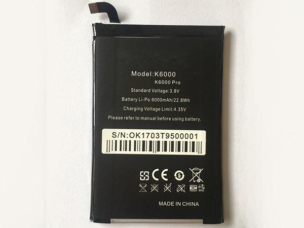 Handy Akku K6000